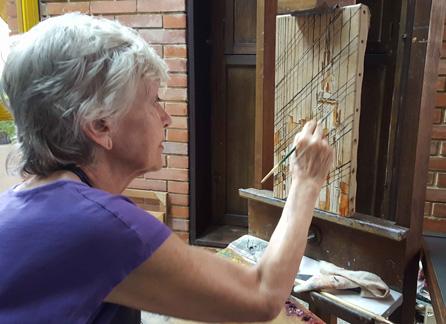 Elena Gil artista venezolana